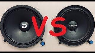 Сравнение DL Audio Phoenix Hybrid Neo 165 vs Pride Ruby 6.5 (ПРОСЛУШКА)
