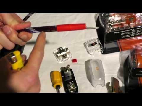 Дистрибьюторы от DL Audio, как аккуратно и надежно сделать силовую проводку в автомобиле