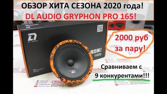 Большой обзор ХИТОВОЙ эстрады DL Audio Gryphon PRO 165!