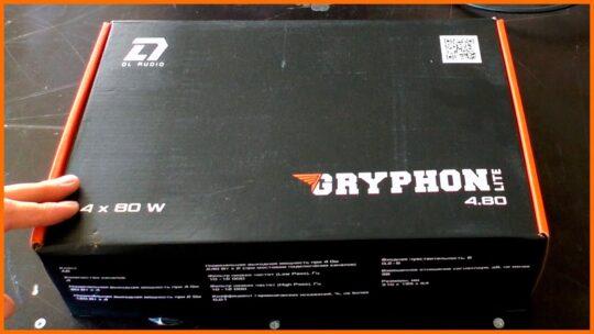 DL Audio Gryphon Lite 4.80 распаковка, установка в машину, прослушка