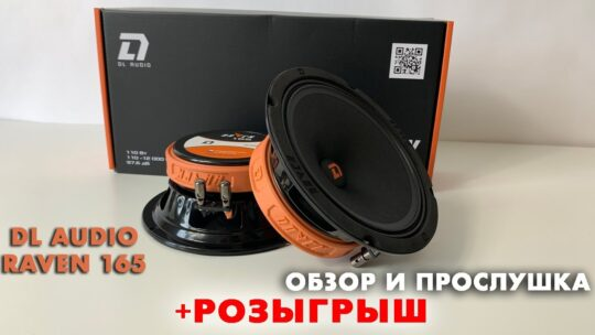 Обзор и прослушка громкой акустики DL AUDIO RAVEN 165 + РОЗЫГРЫШ