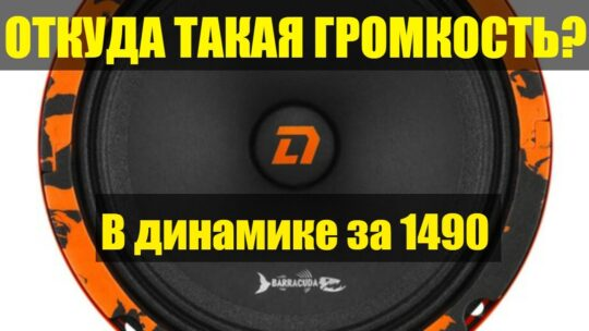 Реально громкий за 1490р. Обзор новинки от DL Audio Barracuda 165. Громче эстрады за 3000р.