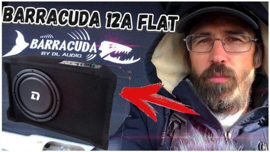 Необычный сабвуфер от DL Audio Barracuda 12A Flat установил в матиз, послушаем