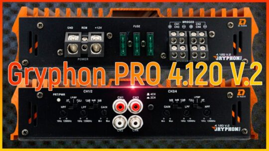 DL Audio Gryphon PRO 4.120 V.2 обзор, проверка фильтров, кнопок и регуляторов