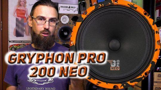 Среднечастотный динамик с неодимовым магнитом DL Audio Gryphon Pro 200 Neo обзор, сравнение