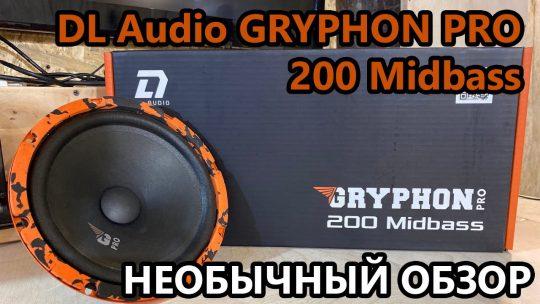 DL Audio Gryphon Pro 200 Midbass. Необычный обзор